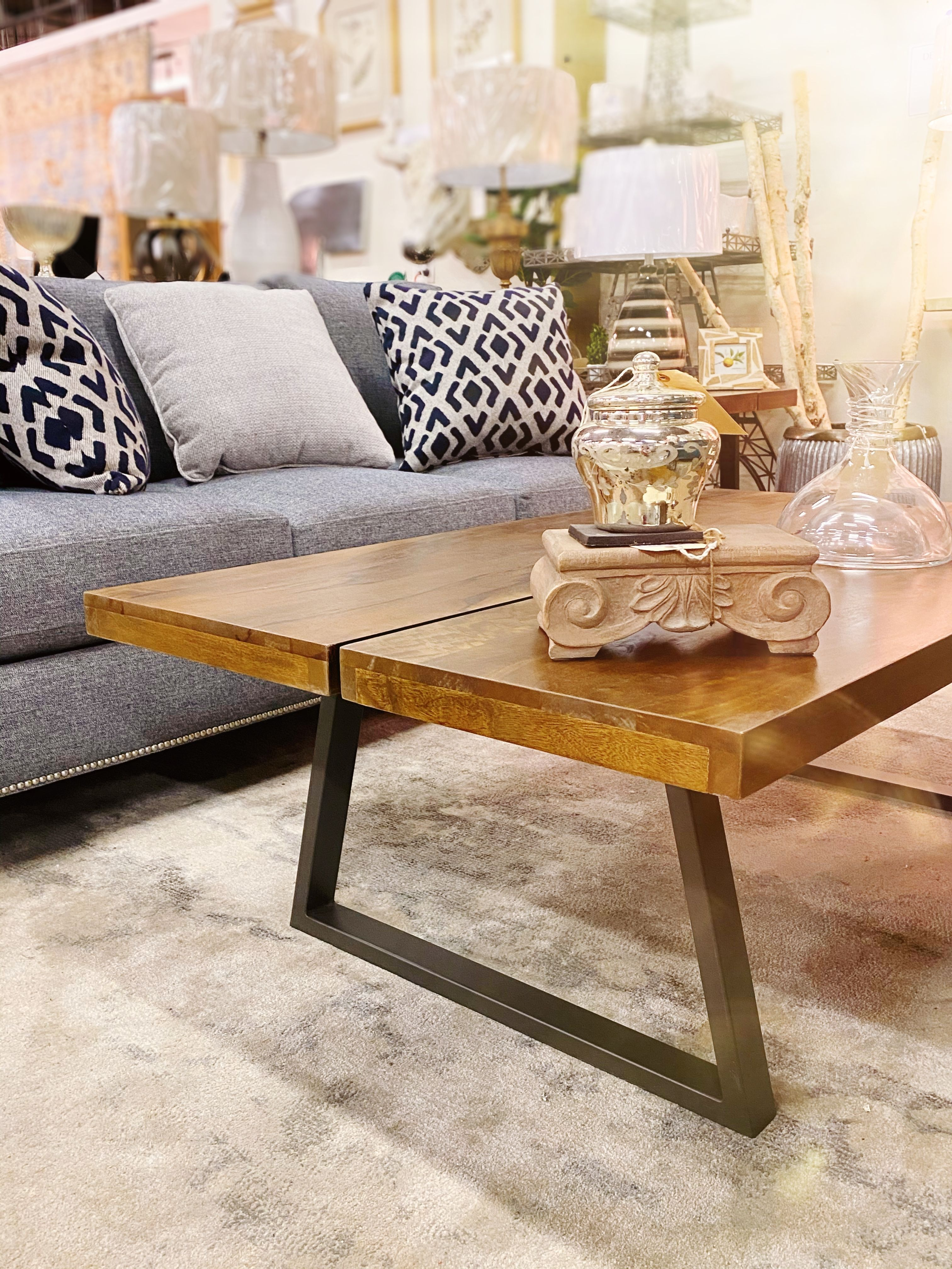 Mid Century Modern Coffee Table With Classic Details In 2020 Coffee Table Mid Century Modern Coffee Table Iron Coffee Table [ 4032 x 3024 Pixel ]