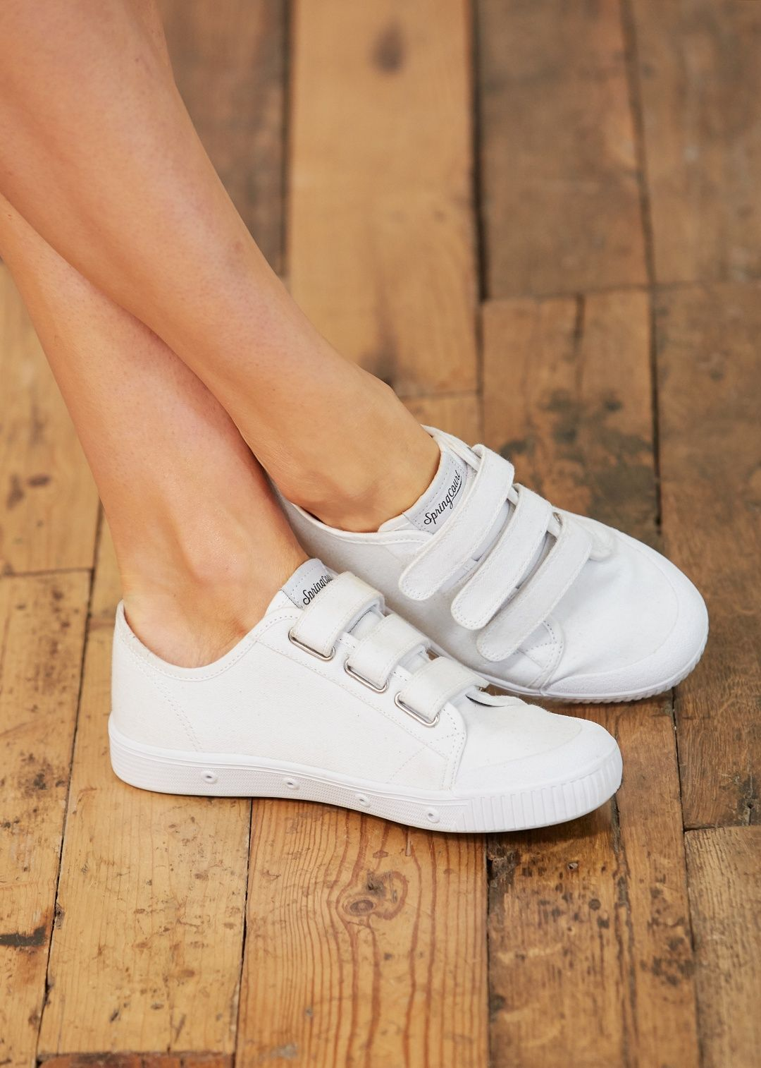Sézane - Velcro Sneakers Sezane x Springcourt