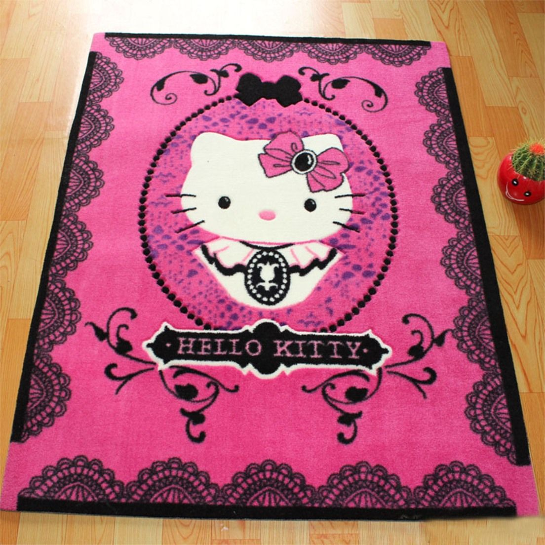 Accessories Bathroom Cute Hello Kitty Bathroom Rug Set