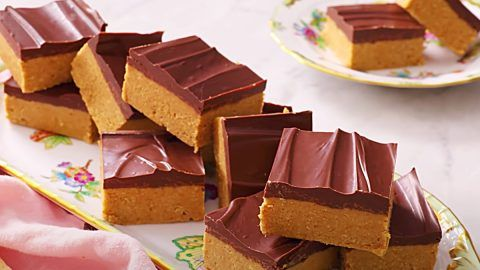 Photo of No-Bake Peanut Butter Chocolate Bars Recipe