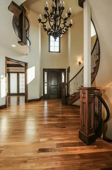 Love the floor and rails