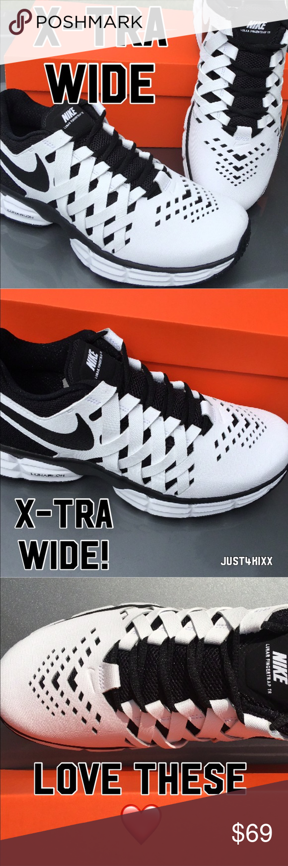 0c60a7737f7 New Nike X-Tra Wide Width Sneakers for Men😎😎😎 Info to follow once I get  my son from school Nike Shoes Sneakers