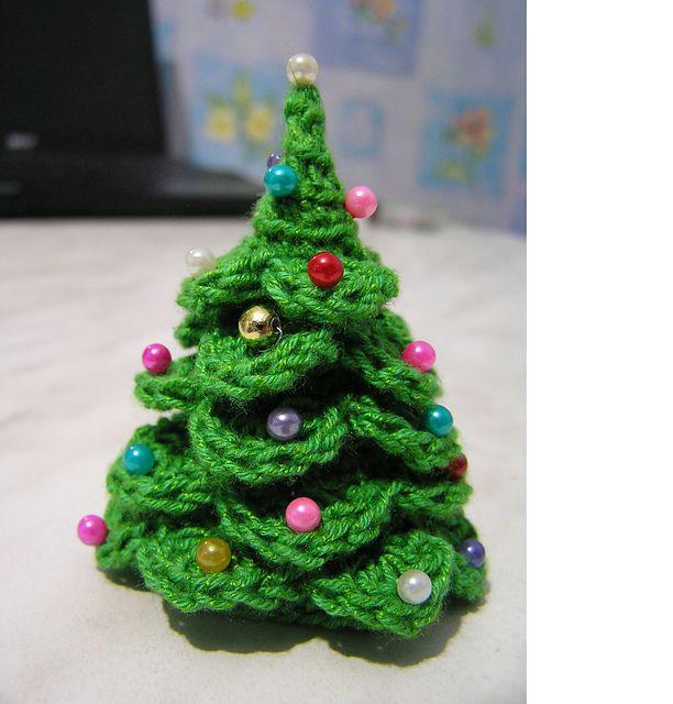 DIY Árbol de Navidad de punto - Patrón de ganchillo LIBRE / Tutoria ...