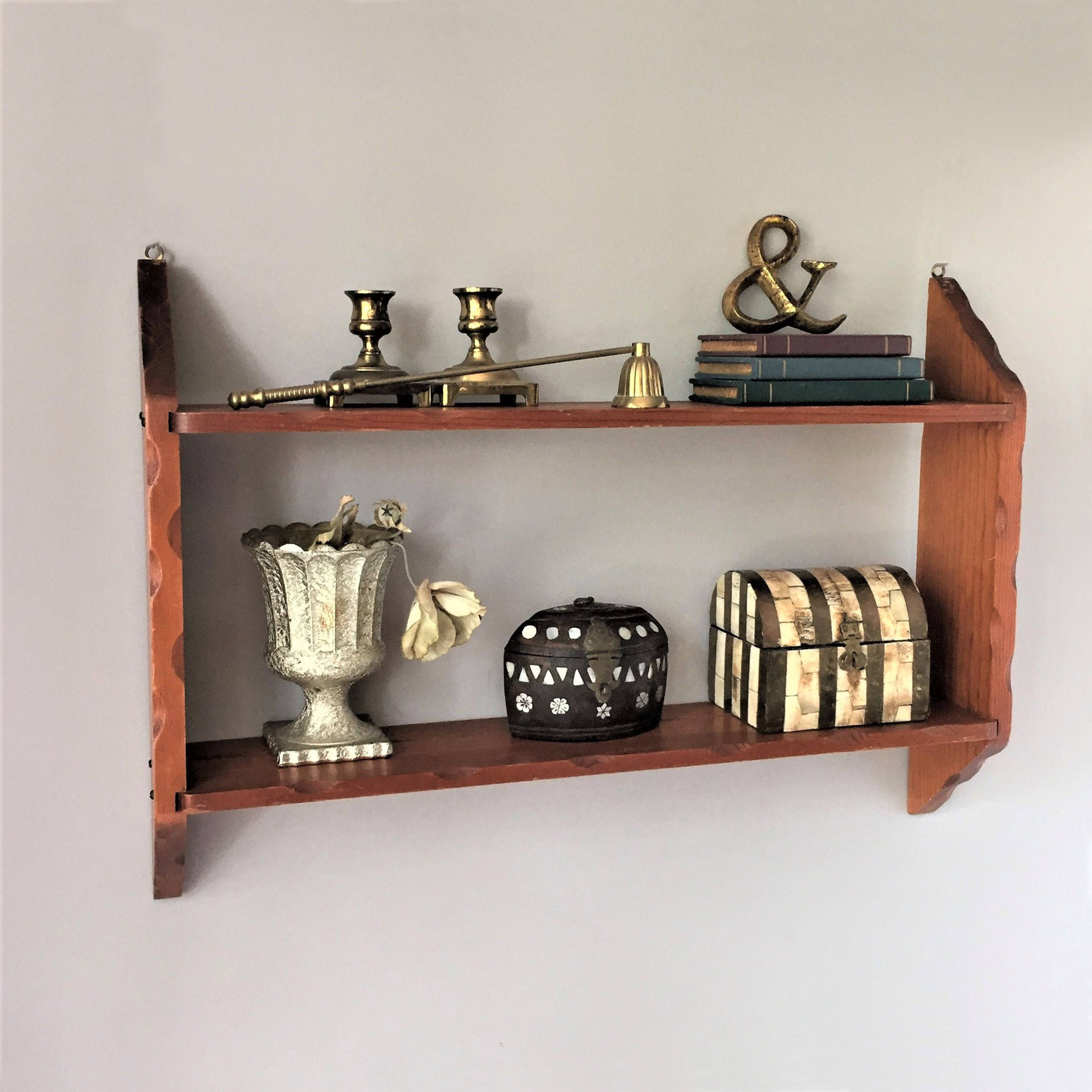 Plate Shelf Vintage Kitchen Shelf Wooden Display Shelf China