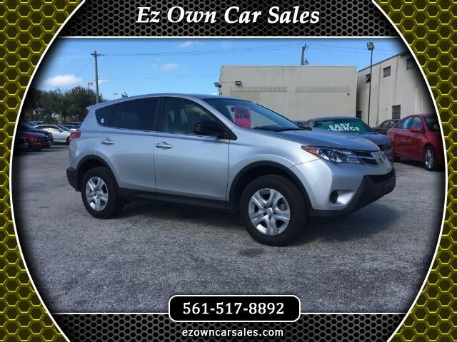 2015 Toyota RAV4 LE AWD Used cars, North palm beach, Cars