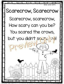Scarecrow Poem | It's About Time for Holidays | Poems