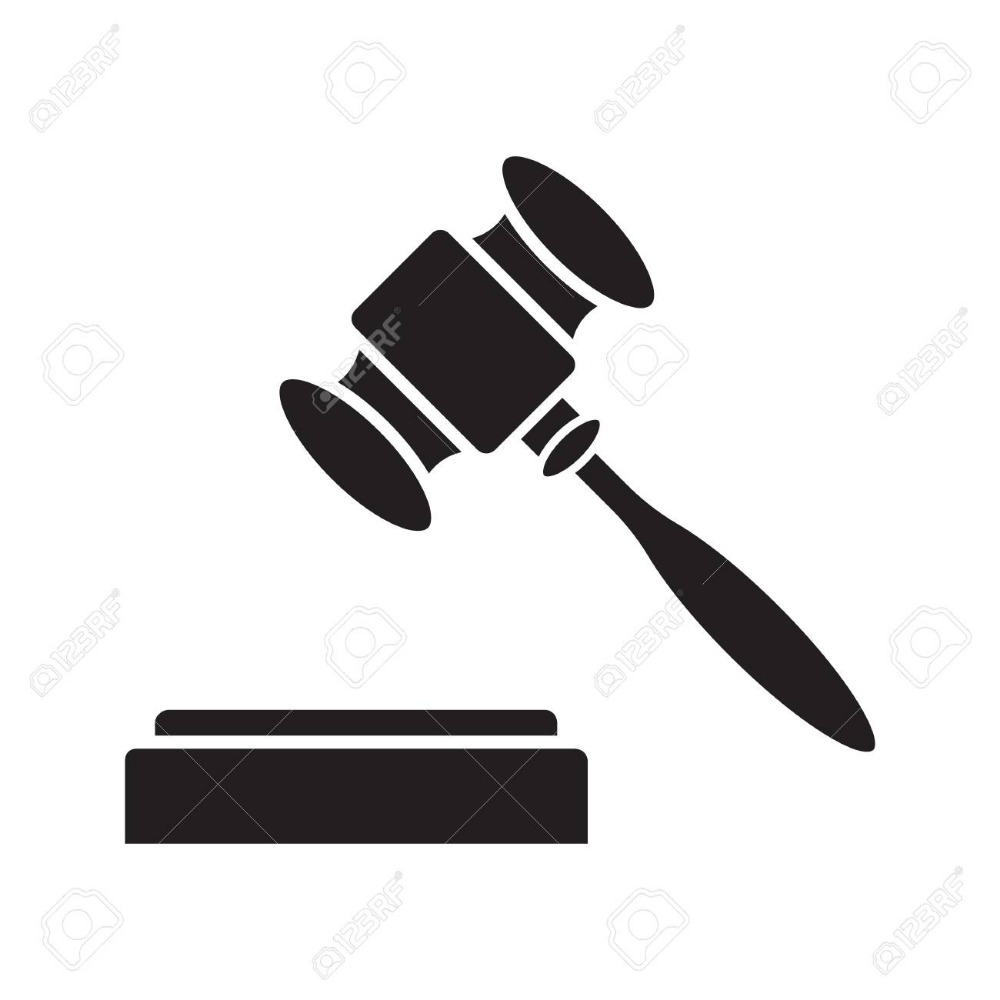 Gavel Court Hammer Glyph Icon Justice Jurisdiction Silhouette Royalty Free Cliparts Vectors And Stock Illustration Image Glyph Icon Glyphs Auction Bid