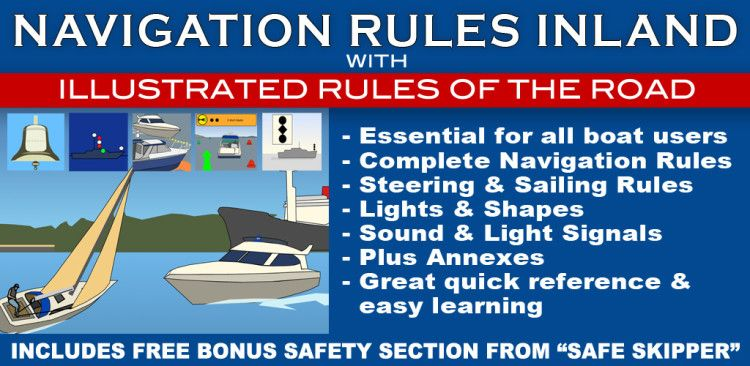 For Boating U0026 Sailing   Essential Information For All Boat Users. Complete  Inland Navigation Rules For All U.S. Inland Waters And The Great Lakes.