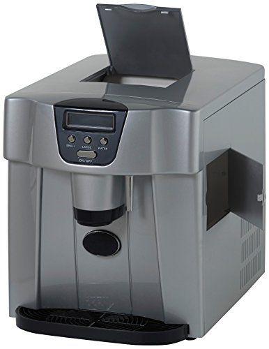 Avanti Wimd332pc Is Portabel Counter Top Ice Maker Platinum Portable Ice Maker Ice Maker Best Blenders