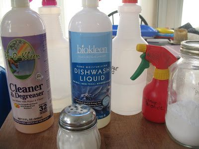 In My Kitchen: Non-toxic Kitchen Cleaners