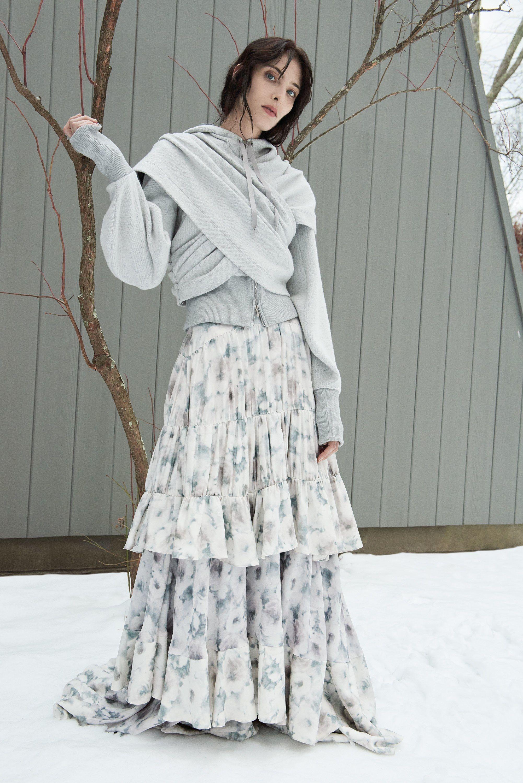 006aedc23 Alejandra Alonso Rojas, американский бренд, коллекция, лукбук, осень-зима  2018-2019, Collection, Fall Winter 2018-2019, Lookbook, NYFW, Ready-to-Wear