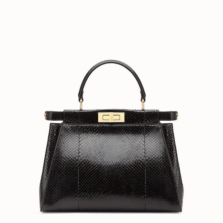 ade4e5829d7c Green python handbag. - PEEKABOO REGULAR