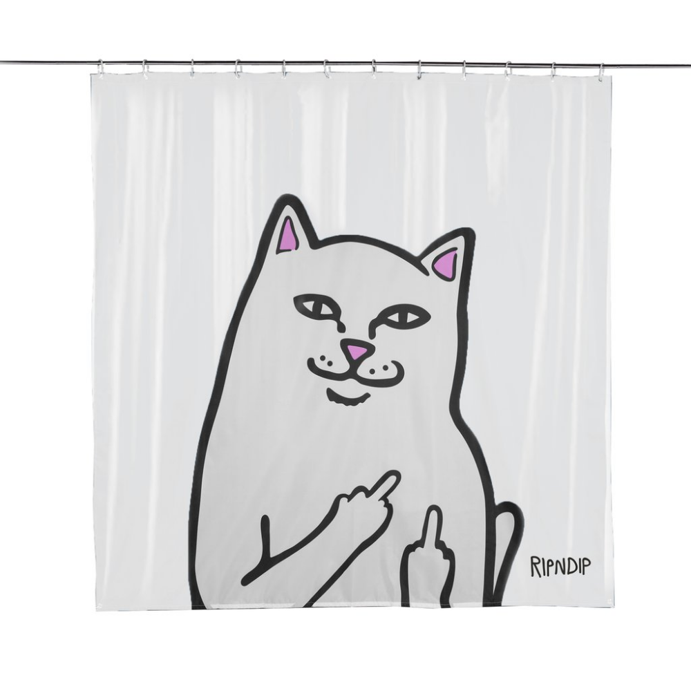 Lord Nermal Shower Curtain Clear Shower Curtain Curtains