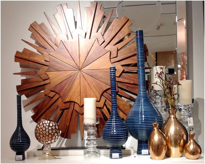 Mix up your colors, shapes and sizes when accessorizing! It keeps things interesting! #InteriorDesign #DesignTips