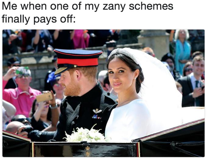 Royal Wedding Of Prince Harry And Meghan Markle Memes Giggle Funny Memes