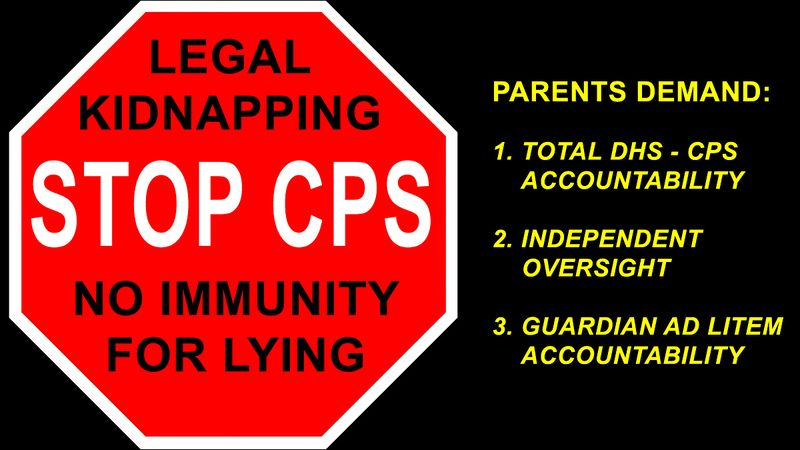 Please Sign Petition - Stop Child Protection Services (CPS