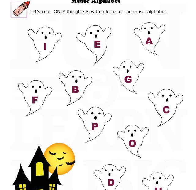 music worksheets halloween music alphabet 001 halloween pinterest music worksheets. Black Bedroom Furniture Sets. Home Design Ideas