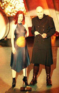 Shirley Manson (Garbage) and Billy Corgan (The Smashing Pumpkins ...