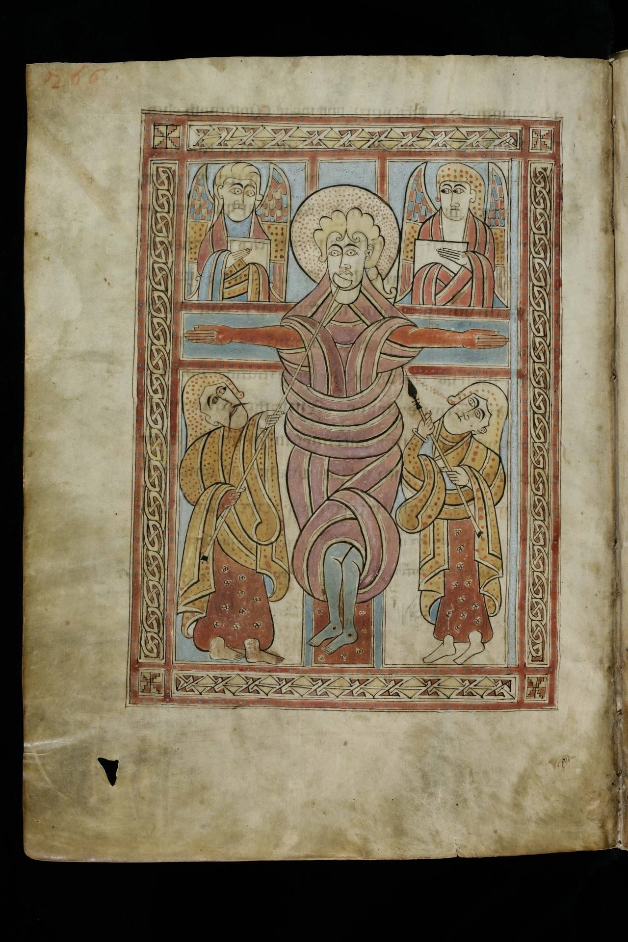 Cod. Sang. 51 -Irish Evangelary from St. Gall Source:http://bit.ly/17qUbzAThe Irish Gospel Book of St. Gall. Gospels according to Matthew, Mark, Luke and John, illustrated with 12 decorated pages, written and illuminated by Irish monks around 750 in Ireland.