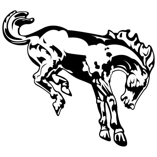 Ford Bronco Symbol Clipart
