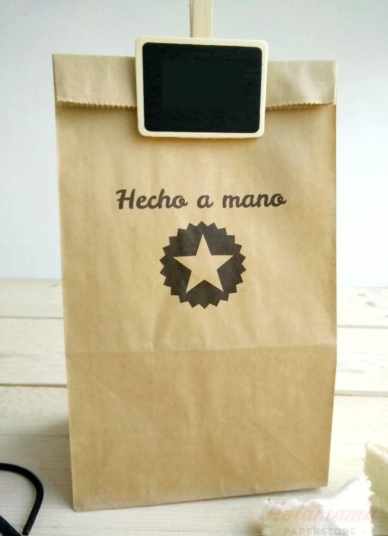 ca3c9c4bc Imprimir bolsa papel craft | Bolsas de Papel | Sobres de papel ...