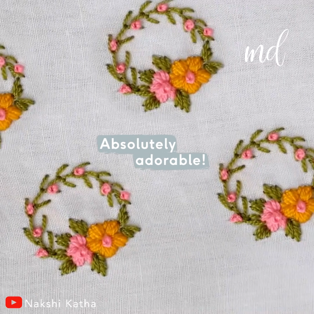 Ideas for cute embroidery designs(you can attach them to your clothes)!