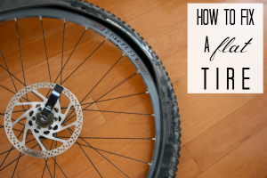 How To Fix A Flat Bike Tire Bicycle Repairs C R A F T Bike Repair Bicycle Bike Tire