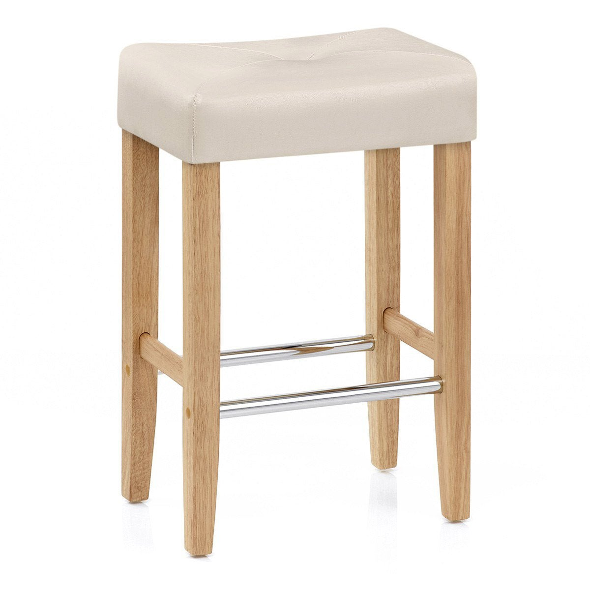 Otis Wooden Breakfast Bar Stool Fabric