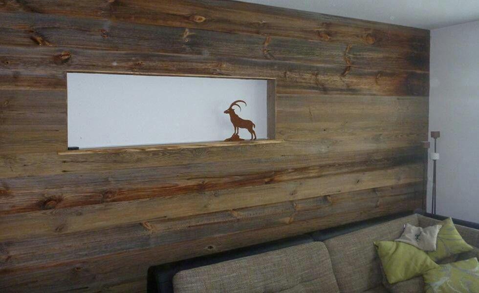 Wandverkleidung Altholz mit Nut und Feder in 2019