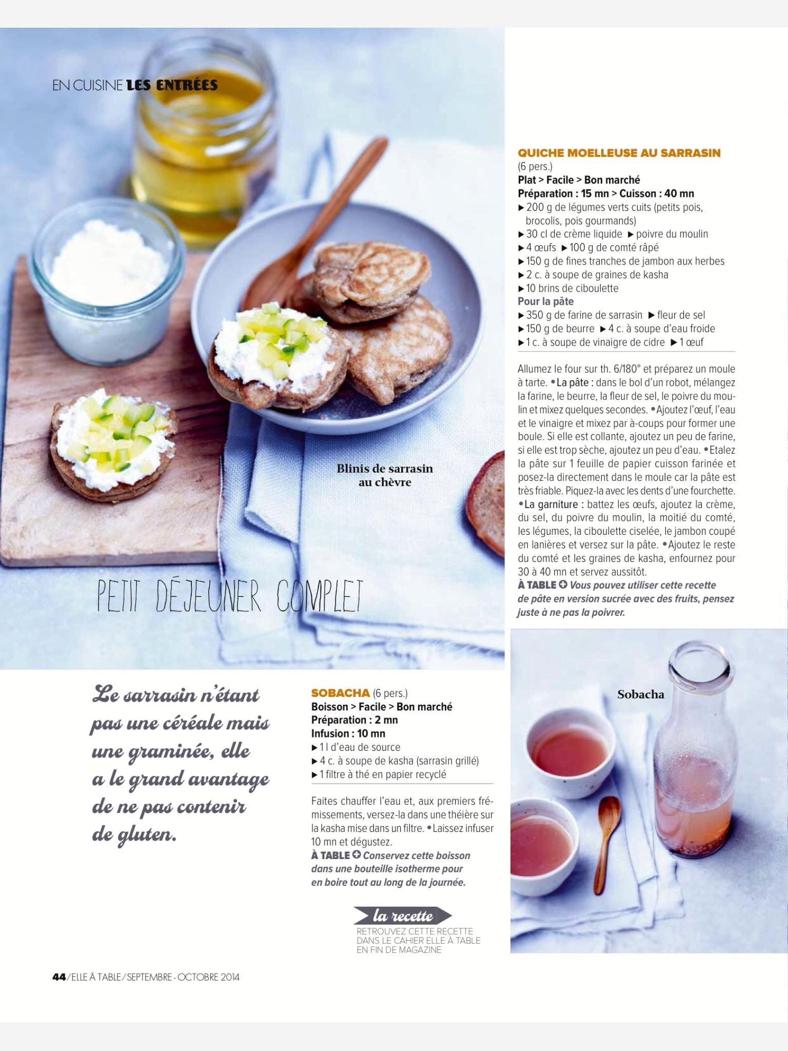 Elle A Table Magazine Layout Food Magazine