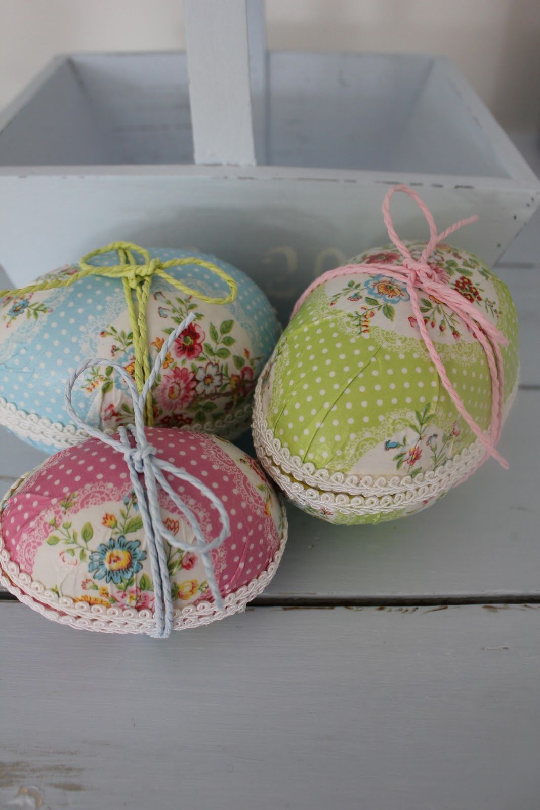 Cute fabric eggs spring easter pinterest egg easter and view these easter gift packaging presentation ideas collection get do it yourself and other holiday occasion decorating ideas crafts hand made gifts and negle Image collections