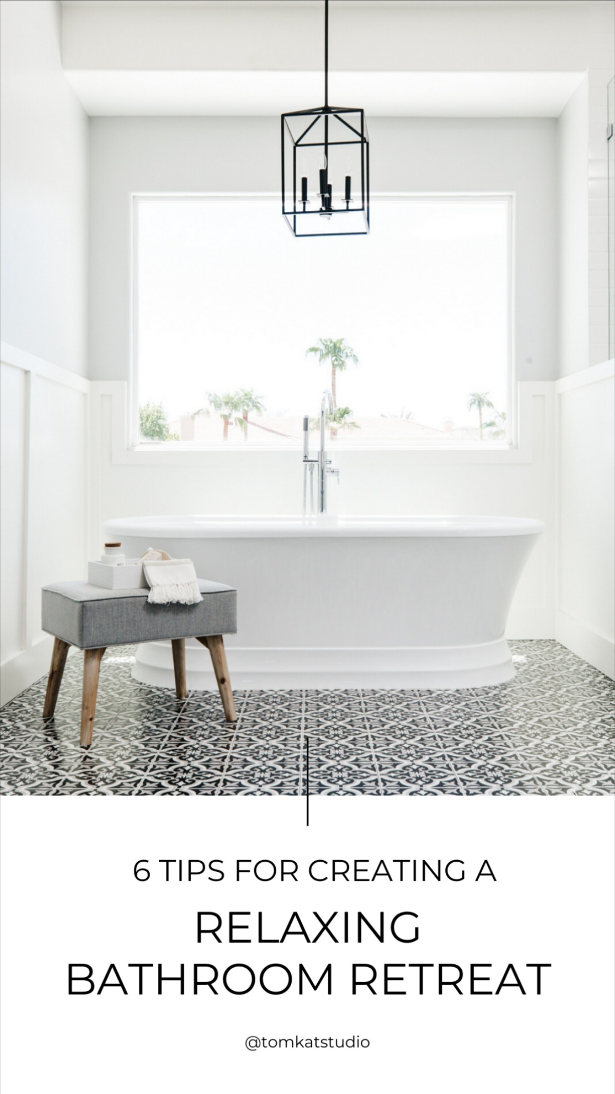 6 Tips for Creating a Relaxing Bathroom Retreat