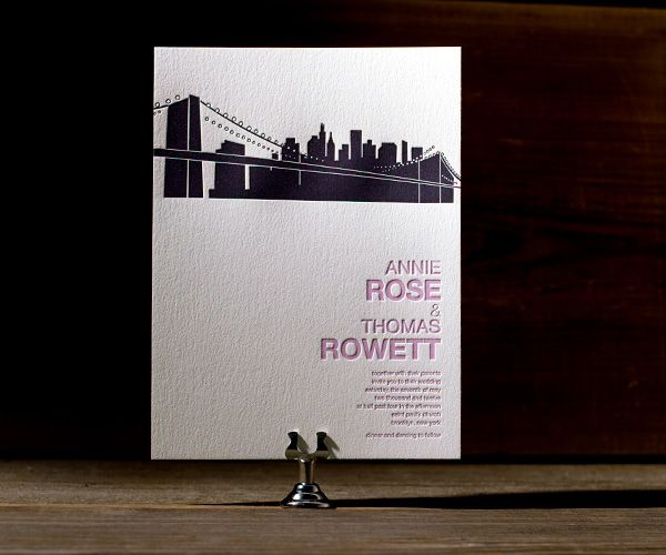 NYC Modern Celebrates Letterpress Chic With These Chic New