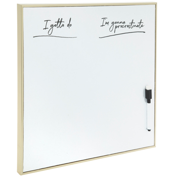 Gold White Magnetic Dry Erase Board Hobby Lobby 1795376 Dry Erase Board Dry Erase Fabric Bolts