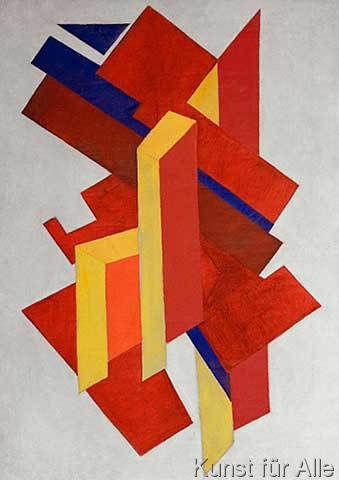Olga Wladimirowna Rosanowa - Gegenstandslose Komposition
