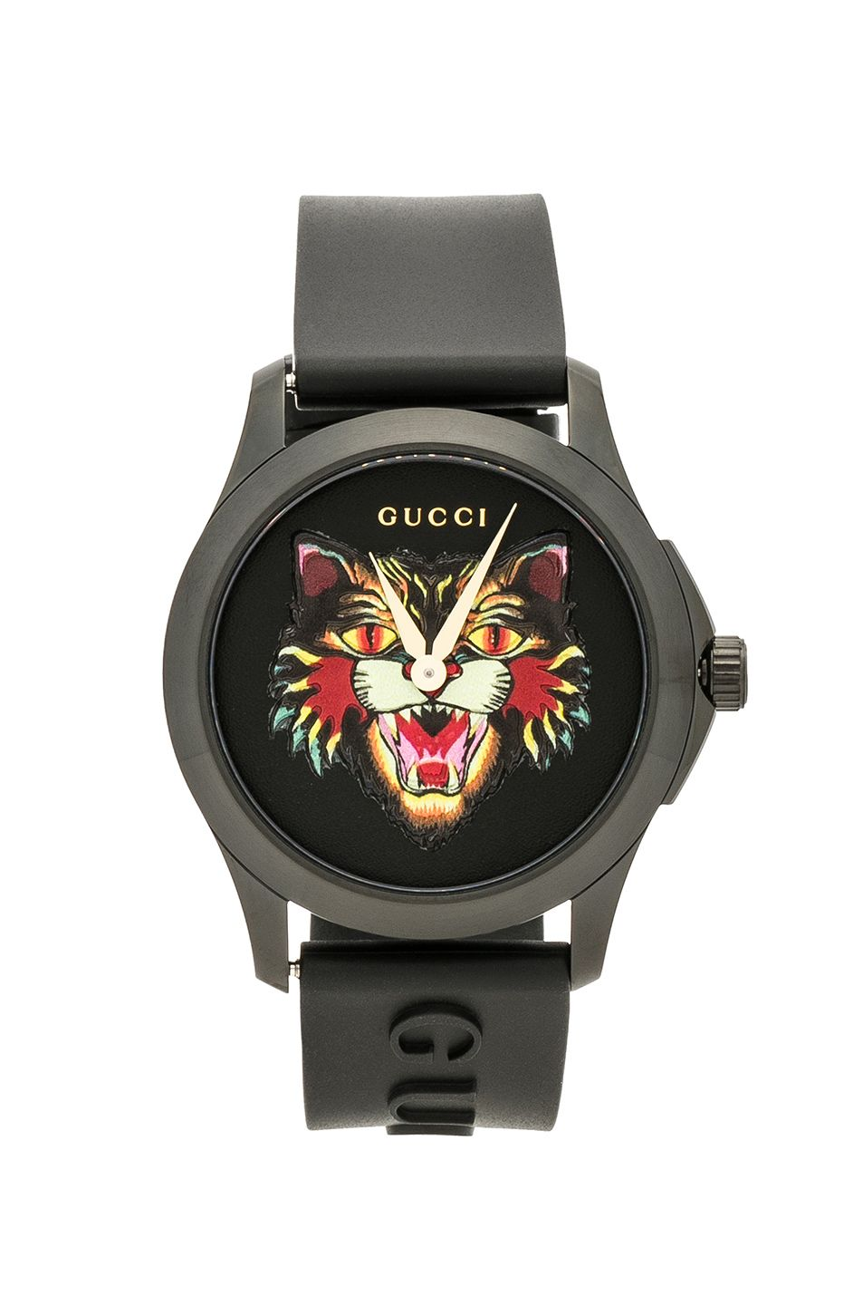 5a4de8871ea GUCCI 38MM G-Timeless Angry Cat Watch.  gucci