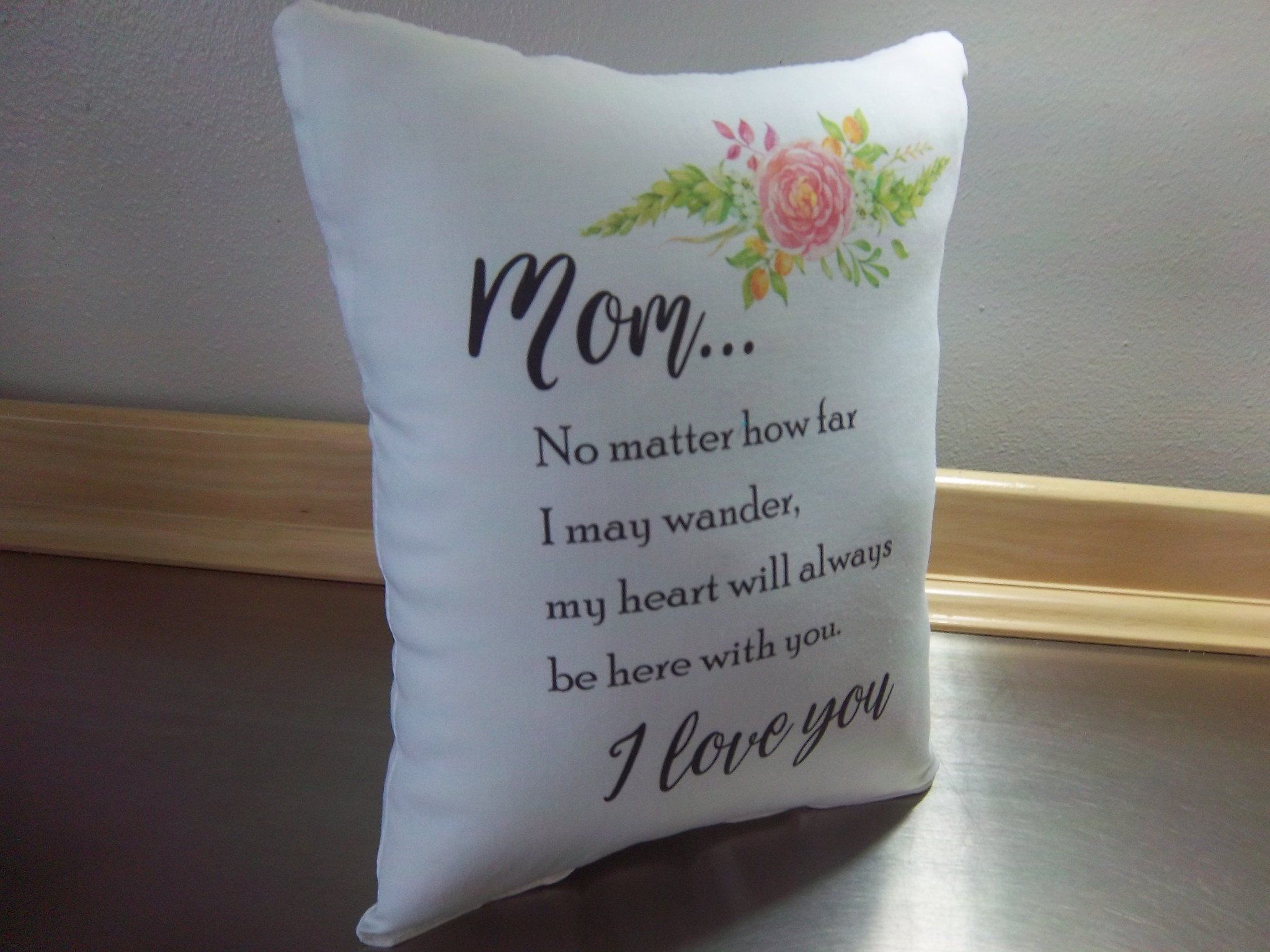 Pillows mom birthday gift throw pillow mother long distance gift pillows easter gift for mom white poplin throw pillow mother birthday gift home decor negle Images