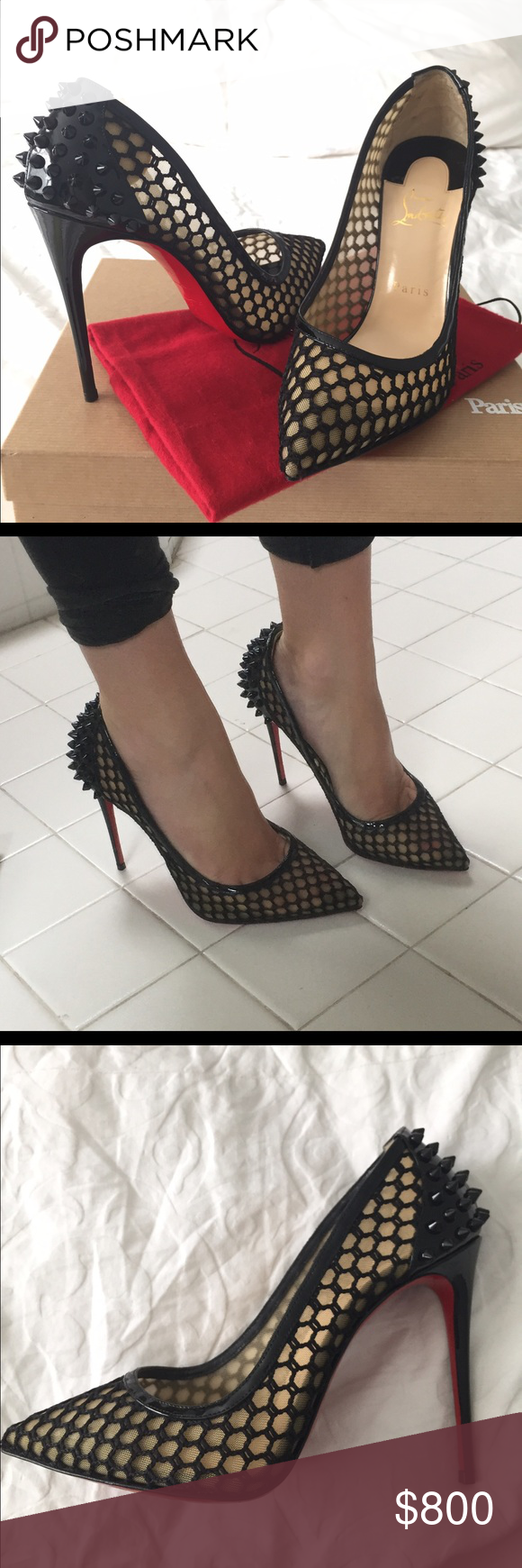 57c99d2dcc9b Christian Louboutin Guni Pump 100mm Knot Patent Comfortable with a classic  look! Pointed toe