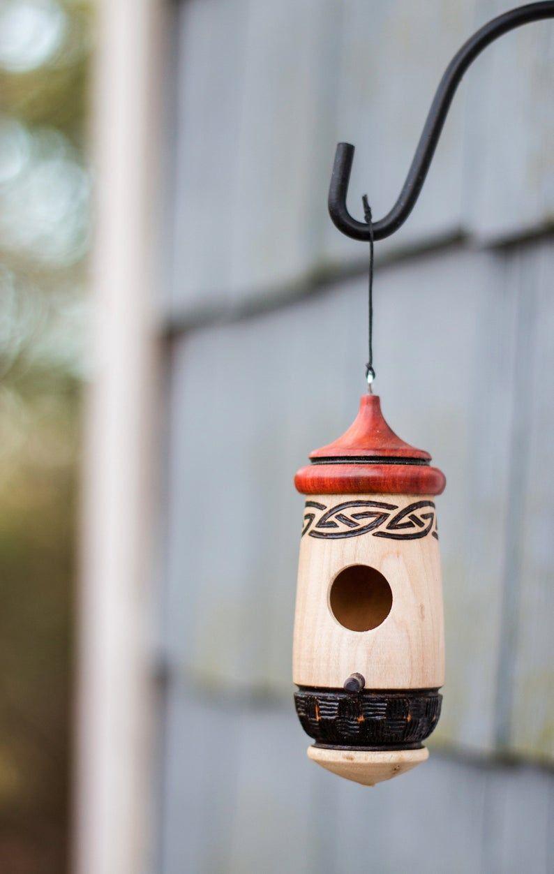 Celtic Hummingbird House Etsy in 2020 Hummingbird