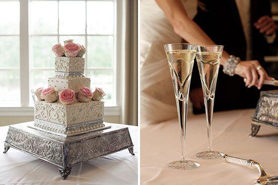 Kristy : Michael | Daniel Taylor Photography | Wedding Cake
