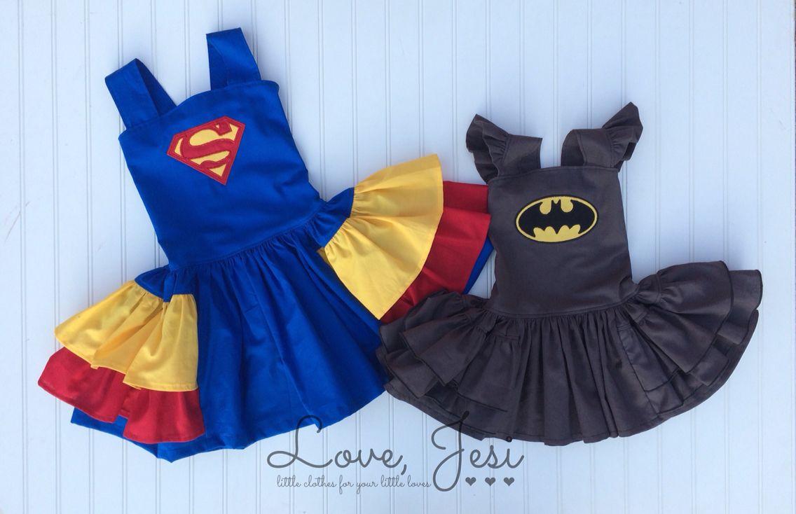 Batman vs Superman!!  https://www.etsy.com/listing/230311622/batman-inspired-party-dress-superhero