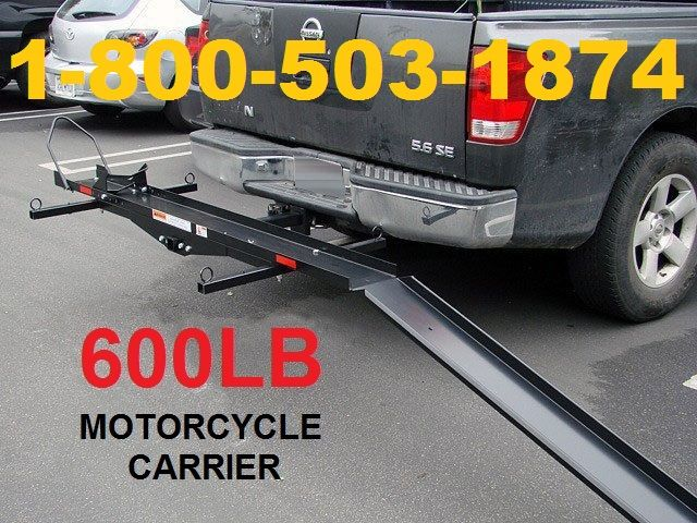600 Lb Capacity Harley Street Dirt Bike Motorcycle Hitch Carrier Wma Motorcycle Carrier Atv Carriers