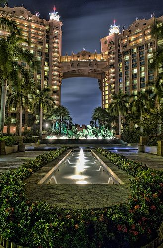 Have you ever seen anything this beautiful? It's simply surreal! .........The Royal Tower, Atlantis Beach Resort - Paradise Island, Bahamas