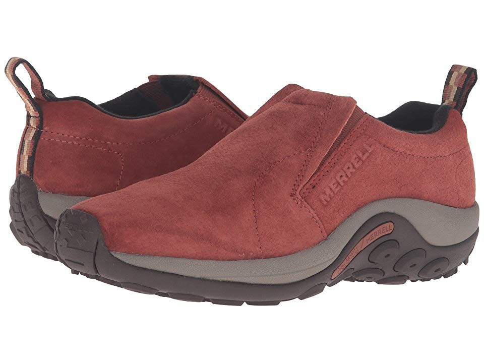 Merrell Jungle Moc Sequoia Women S Shoes The Jungle Moc Slip On From Merrell Is Ideal For Outdoor Enthusiasts Seeking Work Shoes Women Women Shoes