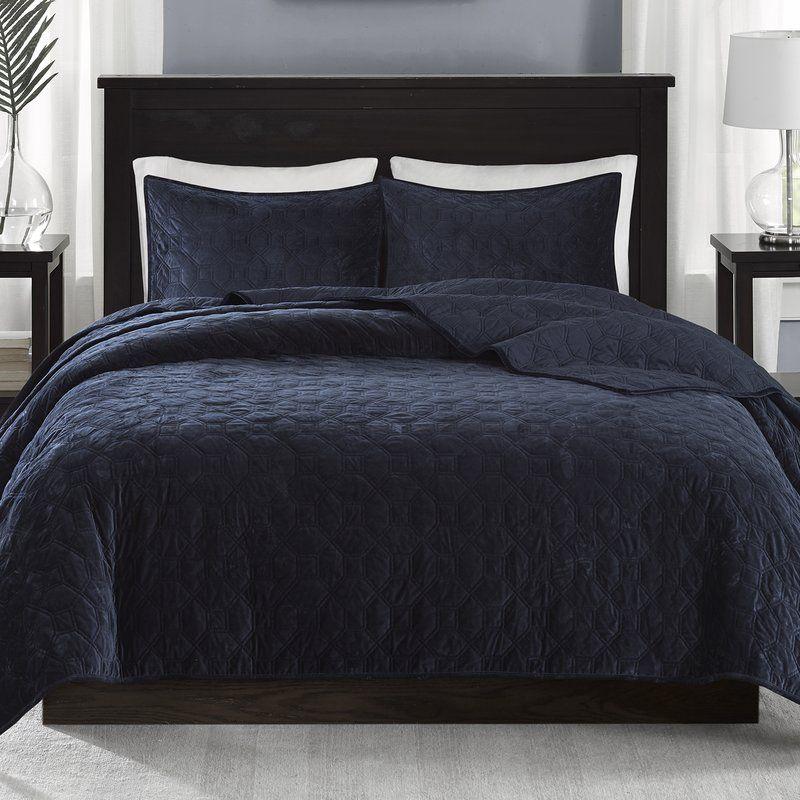 Bruggeman 3 pieces coverlet set bedding sets coverlet