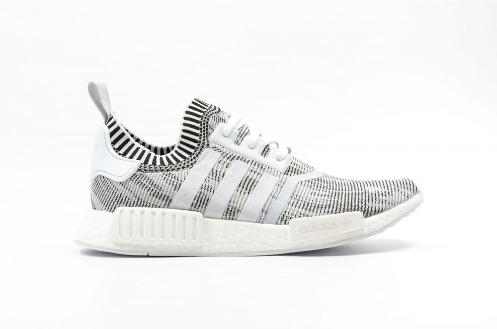 b61f56fd60a48 Adidas NMD R1 PK Oreo White Black Glitch Camo BY1911 8-12 boost nomad ultra   adidas  AthleticSneakers