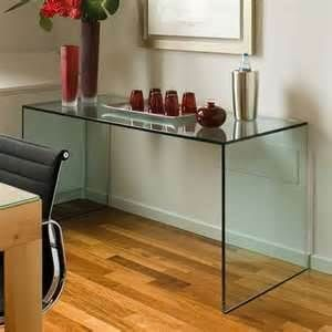 Gulliver Glass Console Table From Tonelli