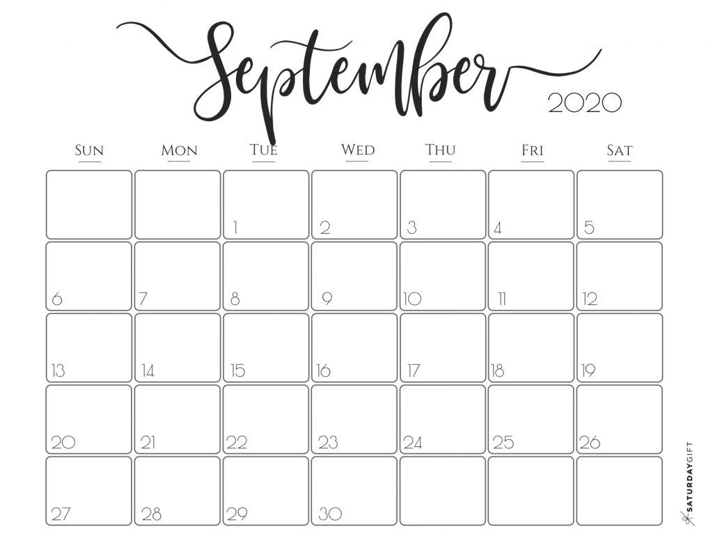 Calendar September 2020 Printable.Elegant 2020 Calendar November Calendar