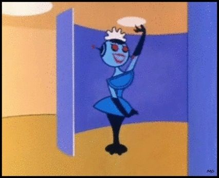 Blanche, the French robot maid - The Jetsons (1962)