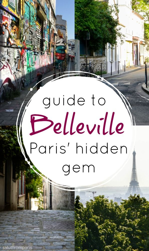 Belleville – Paris' village #beautifulviews